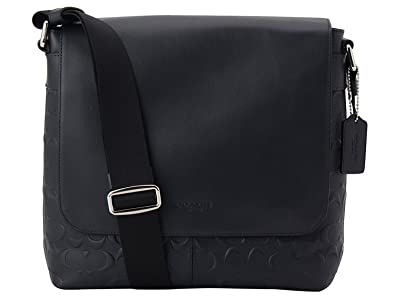 377c4b2306 Image Unavailable. Image not available for. Color  Coach Charles Small  Messenger In Signature Crossgrain Leather Midnight Blue F72220