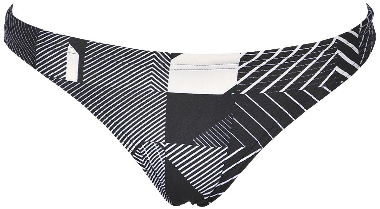 Arena Rulebreaker Real Bikini Bottom, Black Multi, Small by Arena