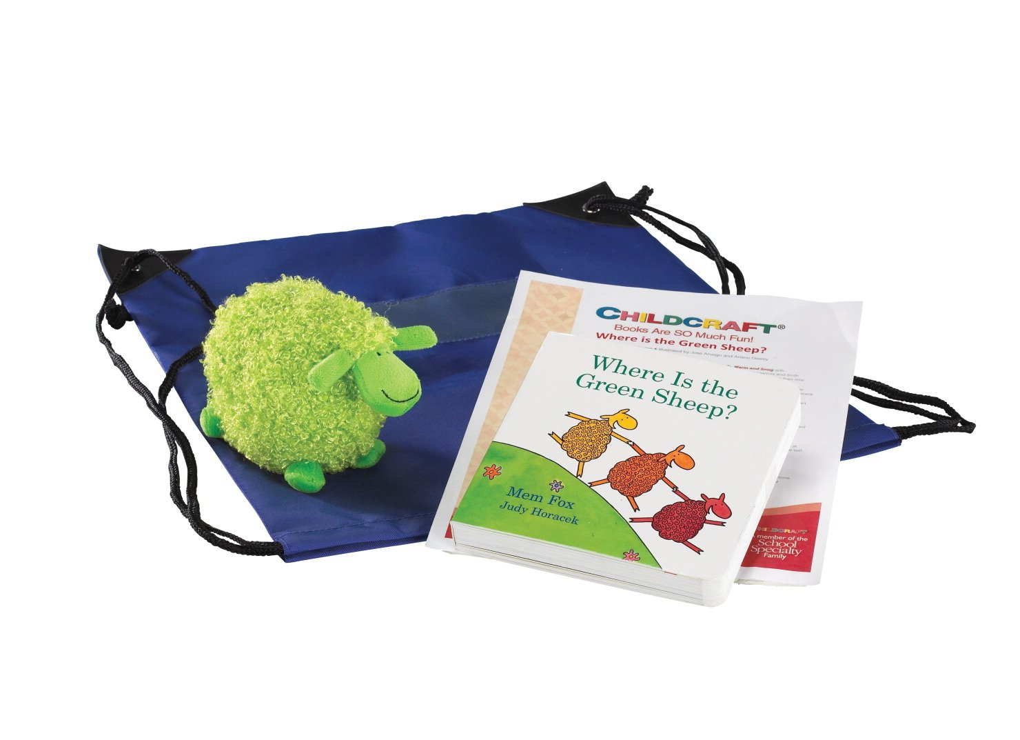 Childcraft Where Is the Green Sheep? Literacy Bag