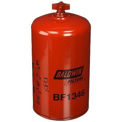 Baldwin BF1346 Heavy Duty Diesel Fuel Spin-On Filter: Automotive