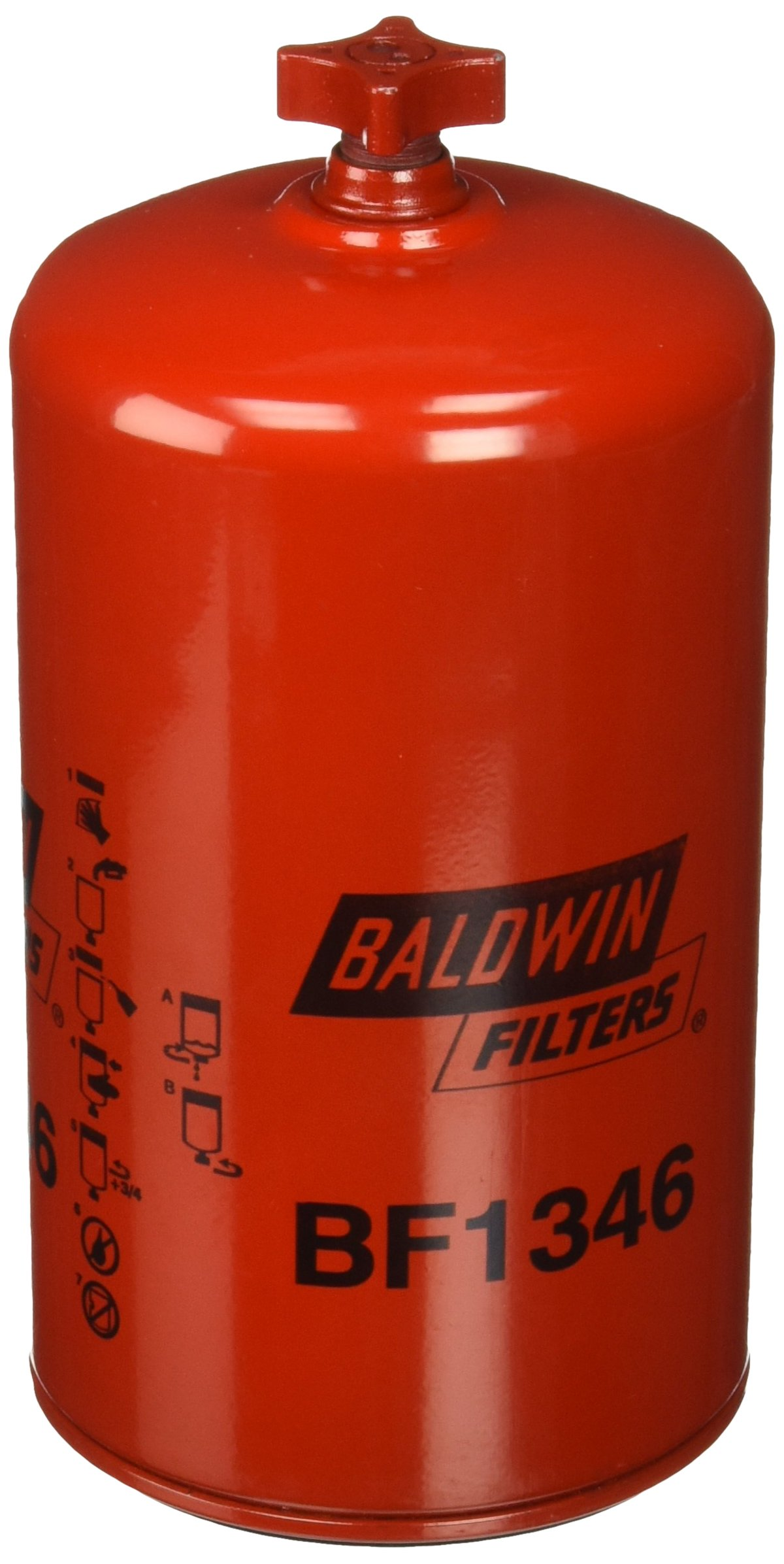Baldwin BF1346 Heavy Duty Diesel Fuel Spin-On Filter by Baldwin