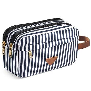 f9a2dabf1e14 Travel Toiletry Bag, Portable Travel Cosmetic Wash Bag Overnight Wash Gym  Shaving Bag Make up Shaving Dopp Kit for Women