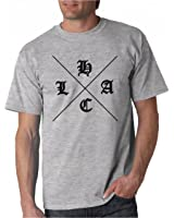 LAHC - LA HARDCORE - LOS ANGELES - Black, White, Red, Grey, Green Or Pink T-shirt