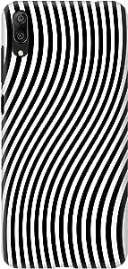 Stylizedd Huawei Y7 Pro (2019) Snap Basic Case Cover Matte Finish - Zebra Lines