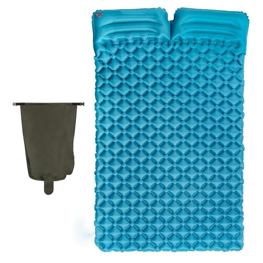 HPLL Aufblasbares Bett im Freien doppeltes aufblasbares Bett-Luftkissen-Luft-Bett-Ei-Trog-aufblasbares Bett-kampierendes moisture-proof aufblasbares Bett
