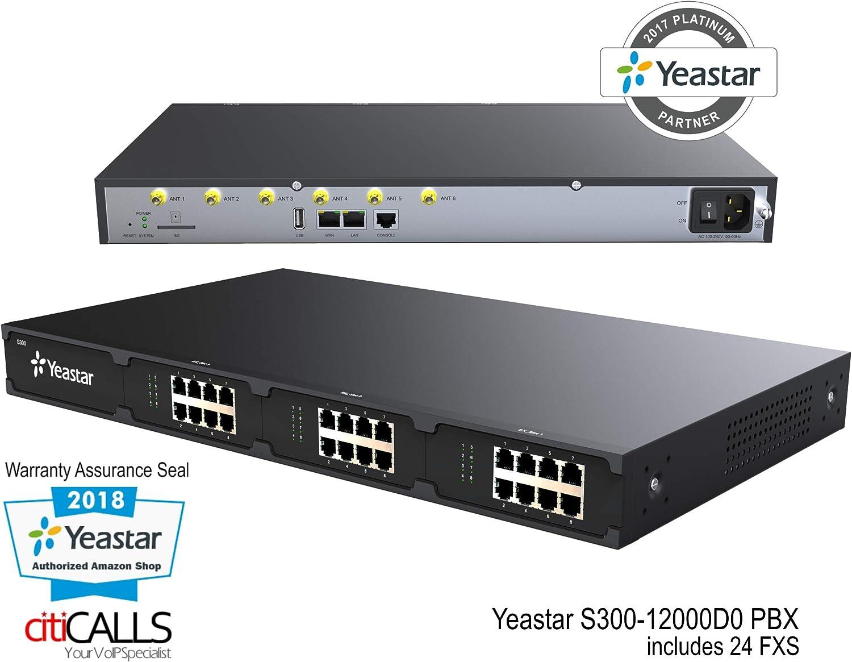 YeaStar S300 No modules PBX Business Phone System Bare-bones