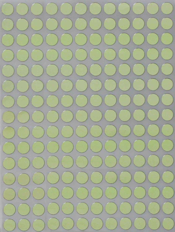 Bollini Adesivi Colorati Rotondi 8mm Viola Confezione da 840 Pezzi Etichette Adesive Colorate Multiuso Scrivibili da 0,8cm