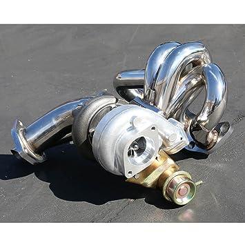 Nissan S13 CA18DET Motor de alto rendimiento 4 piezas T25 Turbo Upgrade Kit de instalación