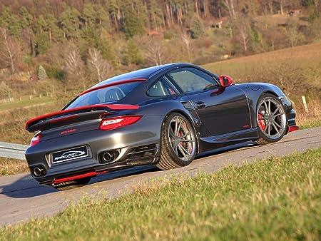Classic y los músculos de los coches y para coches Porsche Speedart BTR II 580 911 997 Turbo AUTO Póster en 10 mil papel de archivo MemoryCapital parte ...