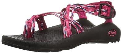Chaco Women's ZX3 Classic Athletic Sandal, Rain Raspberry, ...