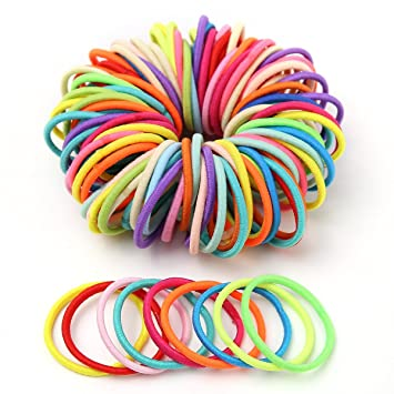 Amazon.com   Munax Babys Girls Kids Small Size Hair Bands Elastics Toddler  E Hair Accessories Hair Ties   Beauty 394142b83f9