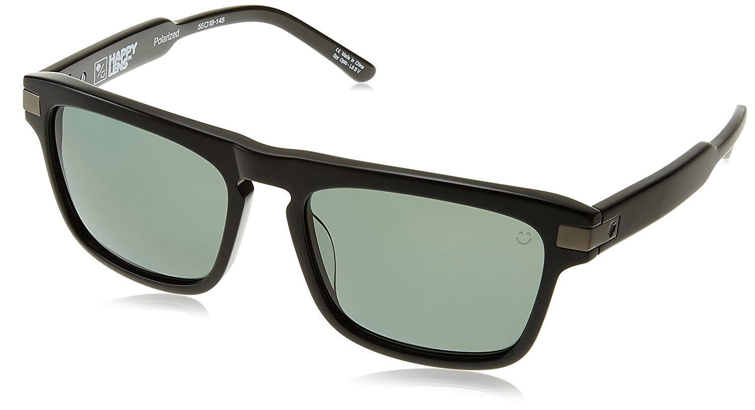 ec3cade5ca Spy Funston Black Happy Gray Green Polar Sunglasses  Spy  Amazon.ca   Luggage   Bags