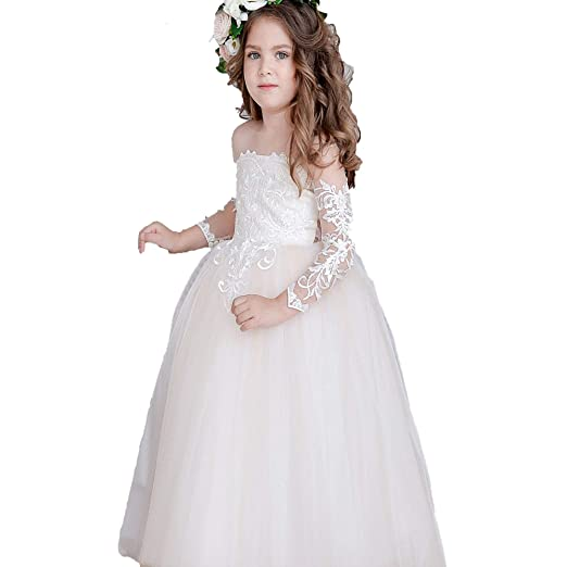 Flower Girl Dress Tulle Bridesmaid Dress For Wedding Party
