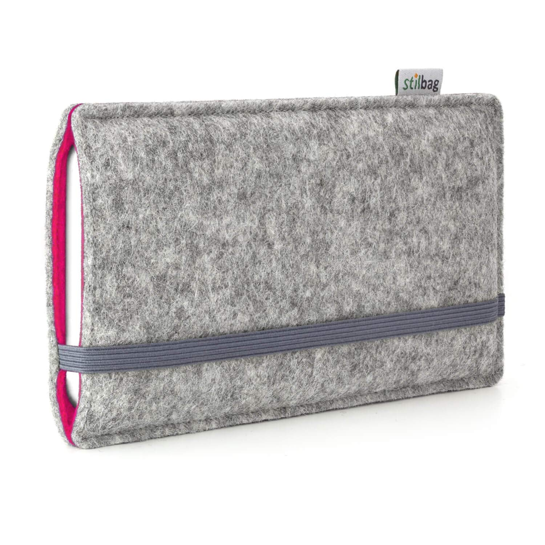 Stilbag Funda de fieltro FINN para Apple iPhone 7 Plus - Color gris/rosa: Amazon.es: Electrónica