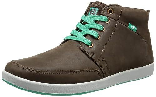 Cat Footwear Dorrington, Zapatillas Altas para Hombre, marrón-Braun (Mens T.Moro), 42 EU: Amazon.es: Zapatos y complementos