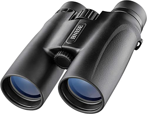 10X42 Binoculars Compact for Adult High Power HD Professional BAK4 Roof Prism Long Range Lightweight Portable for Bird Watching, Hunting, Travelling, Opera