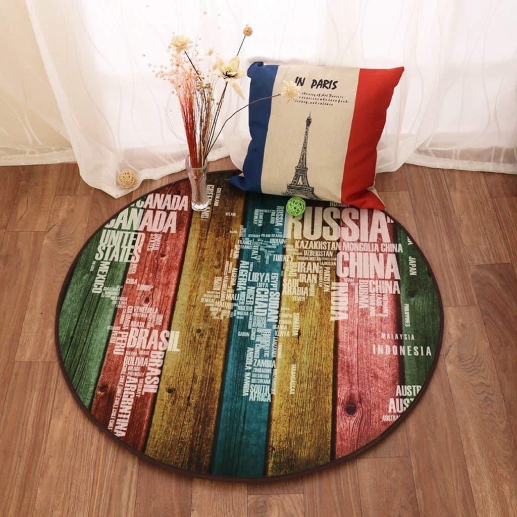 DSJ DSJ DSJ Einfacher Wohnzimmer-Korb mit Teppich-Matratze Runder Schlafzimmer-Runder Teppich-Tisch mit Kaffee-Bett B07G2STS1F | Überlegen  afe1ed
