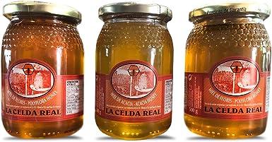 La Celda Real - Miel Natural 500g - 3 sabores diferentes: Miel ...
