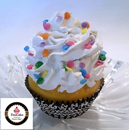 Amazon Dezicakes Fake Cupcake Birthday Cake Faux
