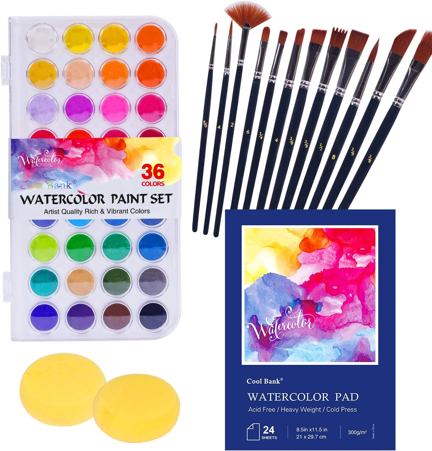 50% Off Coupon – Watercolor Paint Set Kit