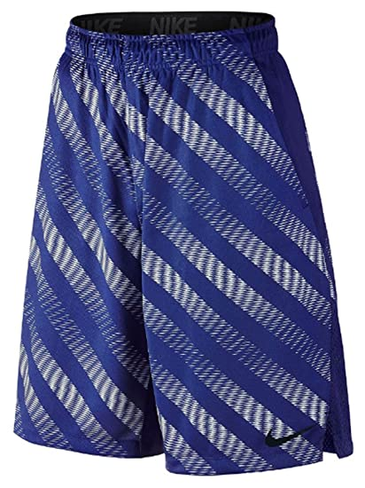 6f5975563d580 NIKE Men's Hyperspeed Hazard Flow Shorts 742240 (Large, Royal Blue/White)