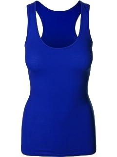 0db1bf232bef8a Emmalise Women s Athletic Active Basic Yoga Gym Tank Top Tee Tshirt - S -  3XL