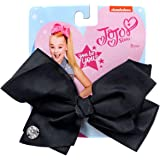 JoJo Siwa Signature Collection Hair Bow Black Basic Bow Medium