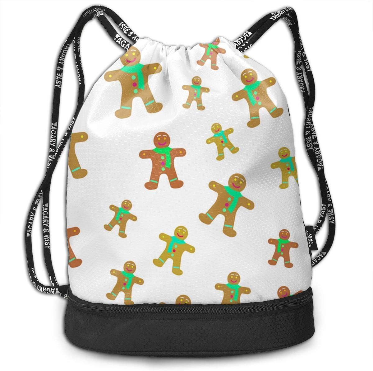 HUOPR5Q Old Christmas Drawstring Backpack Sport Gym Sack Shoulder Bulk Bag Dance Bag for School Travel