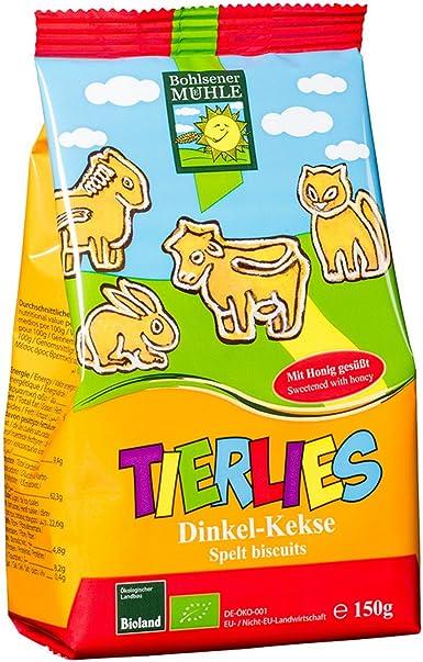 Bohlsener Mühle Galletas de Espelta Bio para Niños - 6 Paquetes de 150 gr - Total: 900 gr: Amazon.es: Alimentación y bebidas