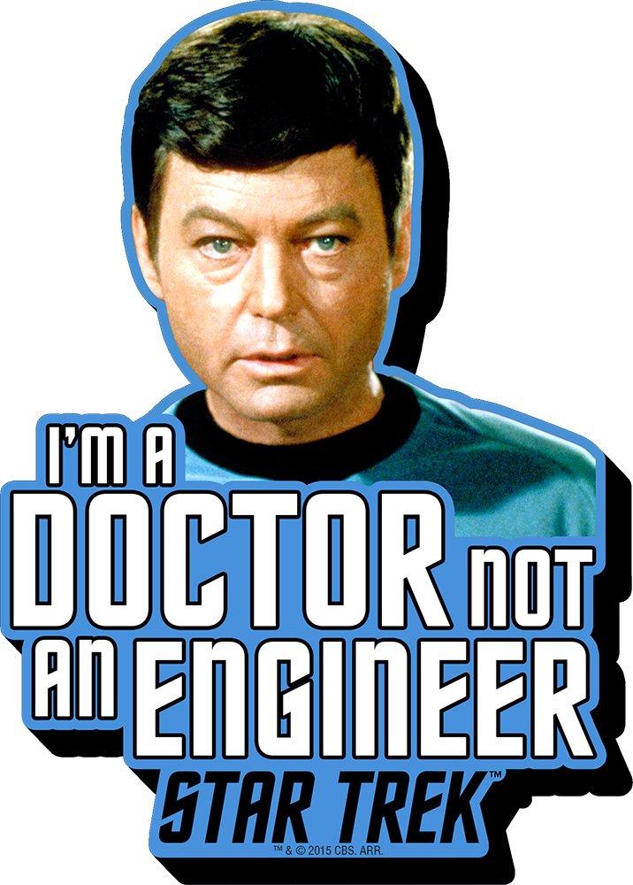 Aquarius Star Trek McCoy Citation Funky Grosse Aimant NMR Distribution 95345