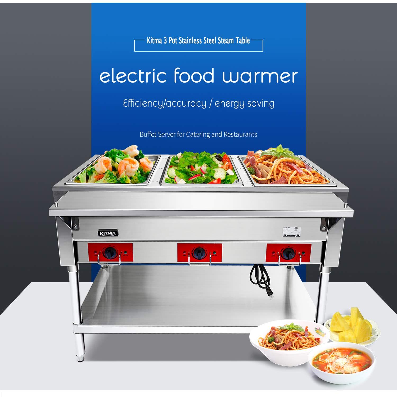 Amazon.com: 110V Calentador Eléctrico Comercial de Alimentos ...