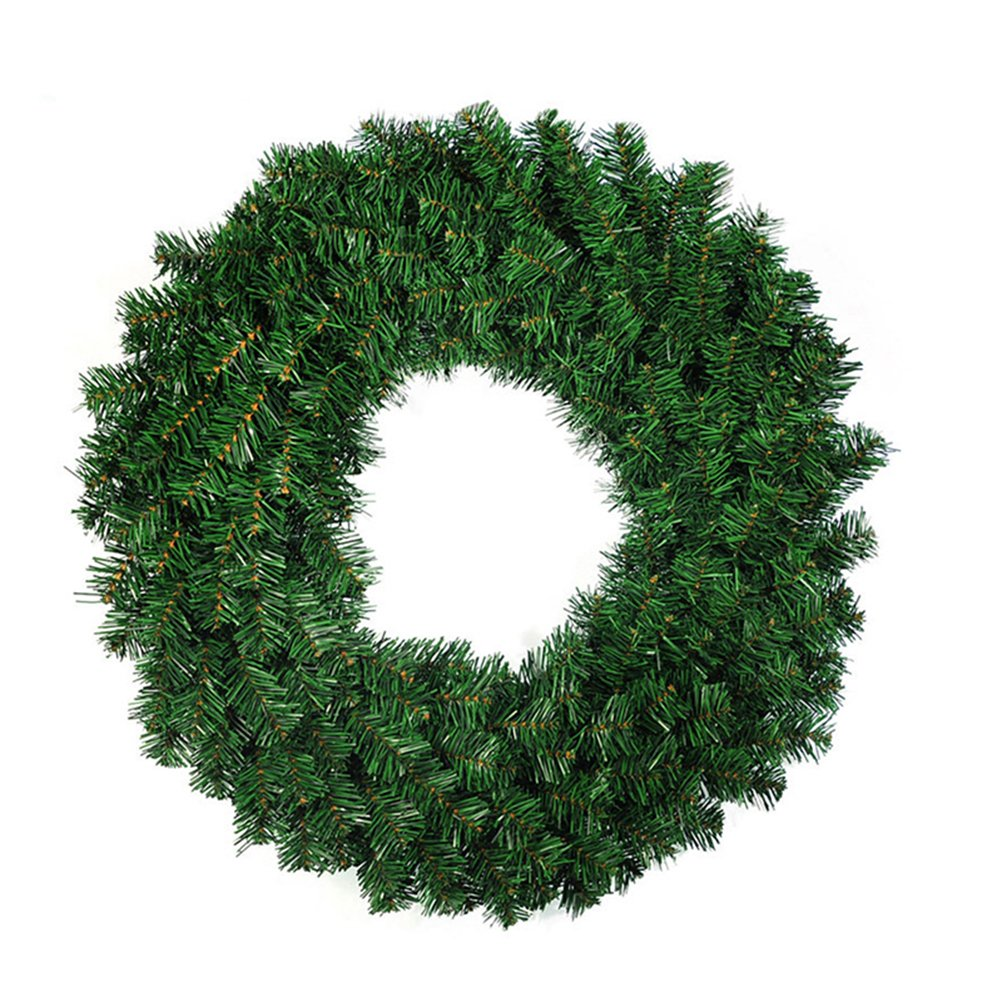 OULII Christmas Wreath Garlands Decoration Door Window Christmas Tree's Decoration 40CM