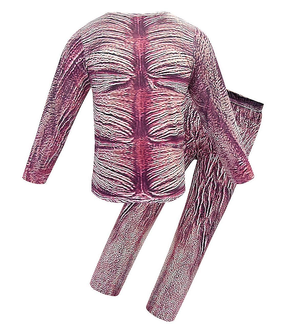 VersusModa Simile Demogorgone Maglia Pantaloni Maschera Bambino Cosplay Stranger Costume Things STRANGE09