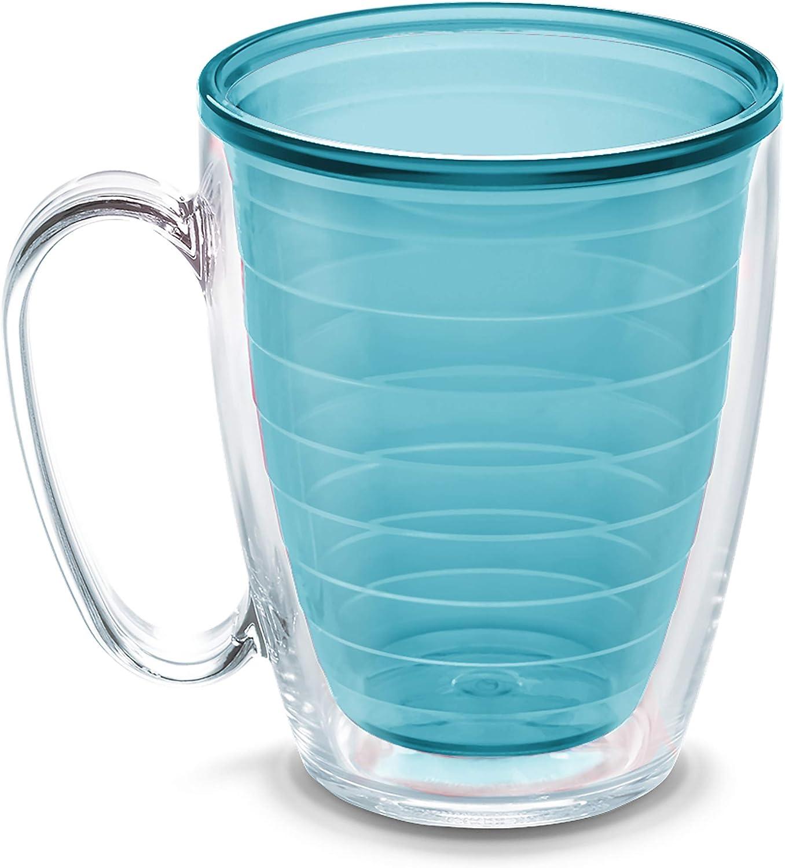 Tervis Clear & Colorful Insulated Tumbler, 16oz Mug - Tritan, Blue Moon