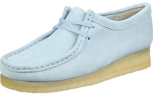 Clarks Wallabee, Zapatos de Cordones Derby para Mujer