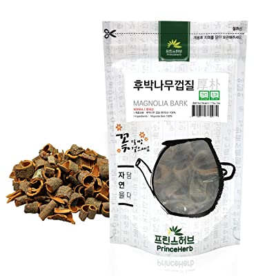 [Medicinal Korean Herb] Magnolia Bark (Houpu/후박나무 껍질) Dried Bulk Herbs 4oz (113g) : Garden & Outdoor