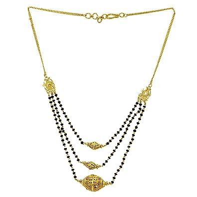 Memoir Gold Plated Dholki Rondell Design Maharashtrian