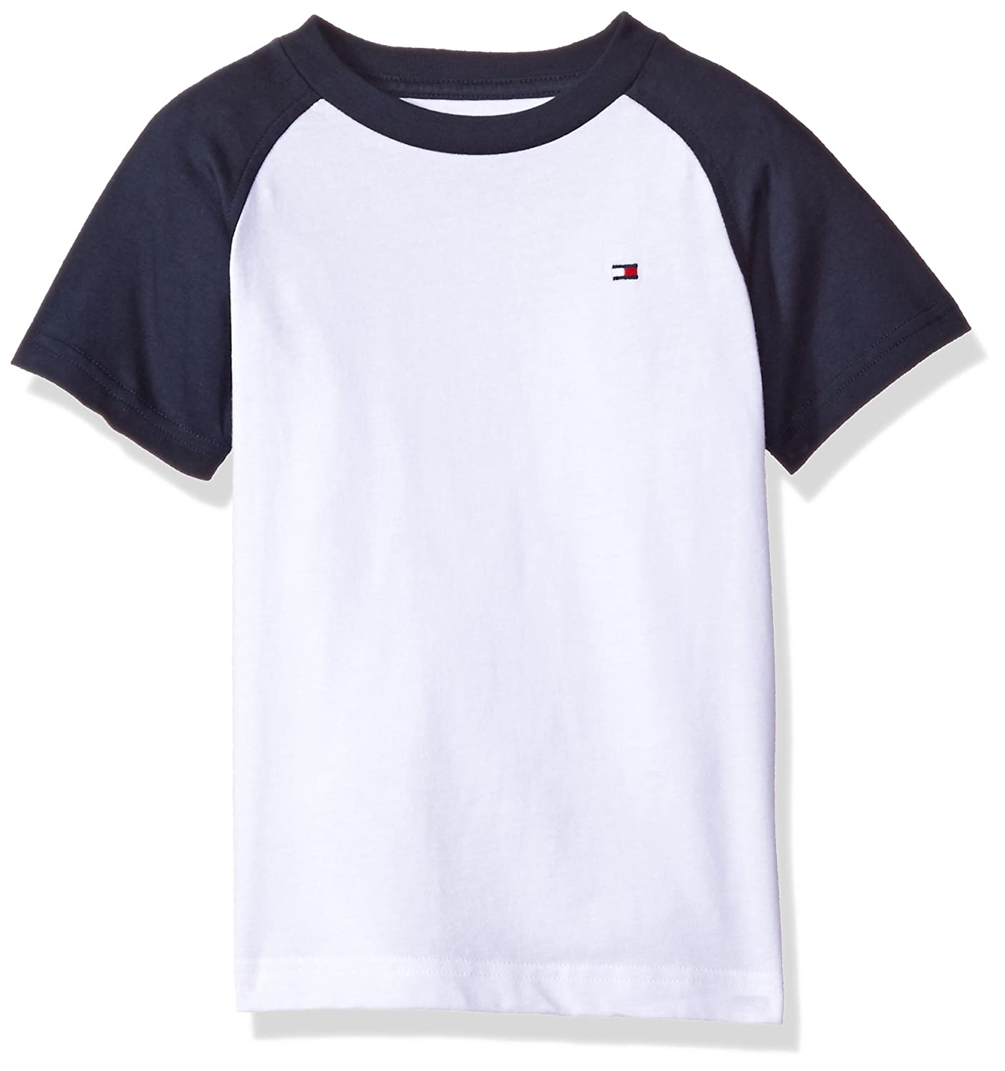 4b2957a9 Amazon.com: Tommy Hilfiger Boys' Short Sleeve Raglan T-Shirt: Clothing