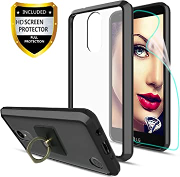 Athchu LG K4 2017 Phone Case / K8 2017 / con Protector de Pantalla ...