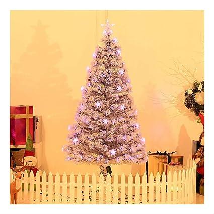 the latest 4e7ff b7ce3 Pre-lit Fiber Optic 5' Tree Artificial Christmas Tree Multicolor LED Star  Lights