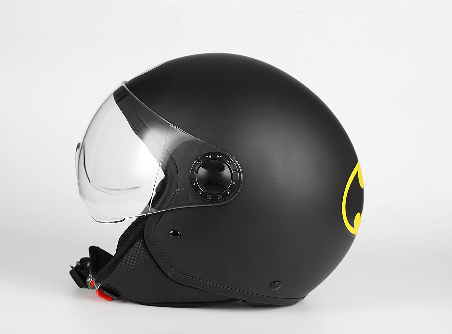 Amazon.es: BHR 26695 Casco Demi-Jet One 801, Batman, Tamaño XL (60 cm), color negro, talla XL