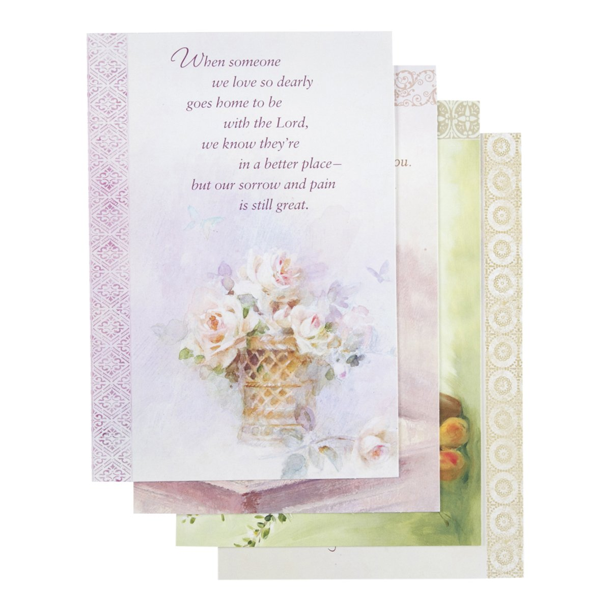 Amazon sympathy inspirational boxed cards oil painting amazon sympathy inspirational boxed cards oil painting sympathy cards boxed sets office products izmirmasajfo