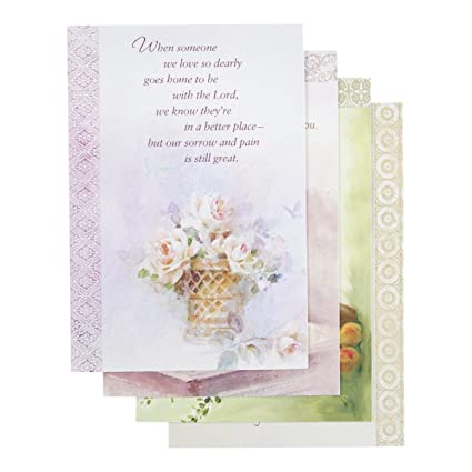 sympathy inspirational boxed cards oil painting - Sympathy Cards
