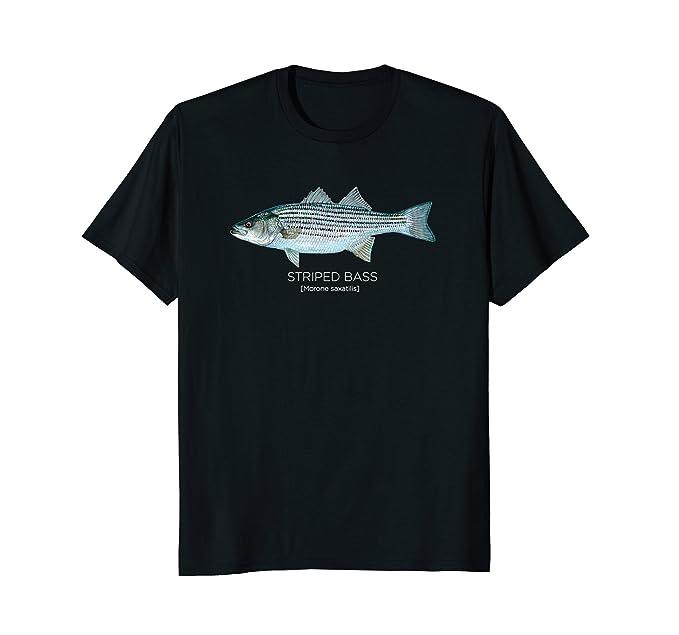 Strip bass t-shirts