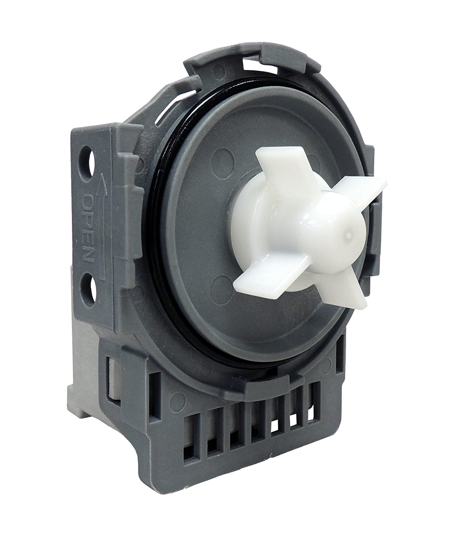 Supco DW0005A Dishwasher Drain Pump Replaces DD31-00005A, DMT800RHW, DMT400, DMT300, DMR78A, DMR77, DMR57 (1-Pack)