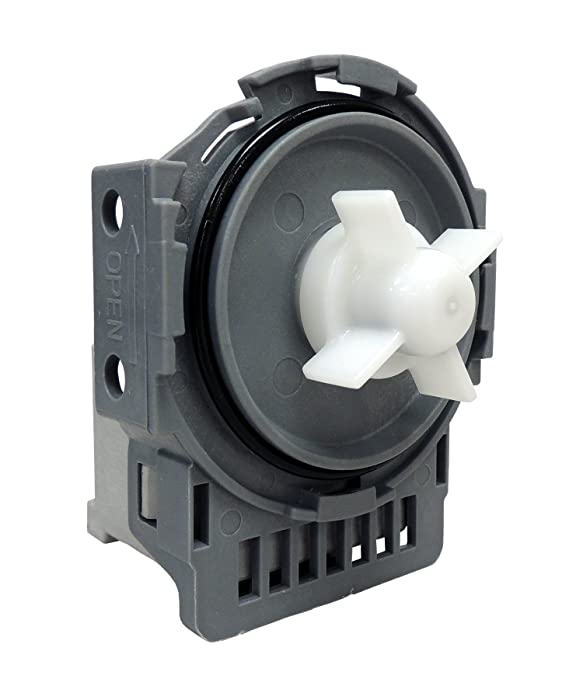 Supco DW0005A Dishwasher Drain Pump Replaces DD31-00005A, DMT800RHW, DMT400, DMT300, DMR78A, DMR77, DMR57 (1-Pack)