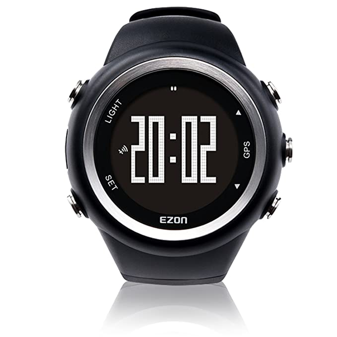 Amazon.com  EZON GPS Sports Watch Outdoor with Distance Pace Alarm ... e476e83da7