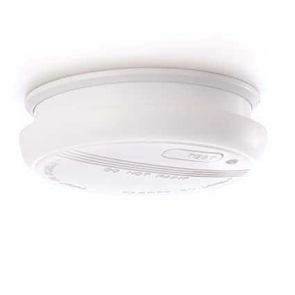 DETECTOR DE HUMO Sicuro   Alarma de incendio de 4smile   Detector de humo para prevención ...