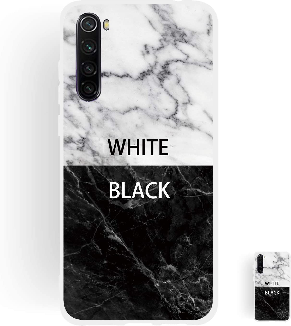 HopMore 3 Pack Compatible con Funda Xiaomi Redmi Note 9 Silicona Blando Dibujo M/ármol Blanco Divertidas Carcasa TPU Suave Ultrafina Slim Case Antigolpes Caso Soft Cover Gracioso Dise/ño A