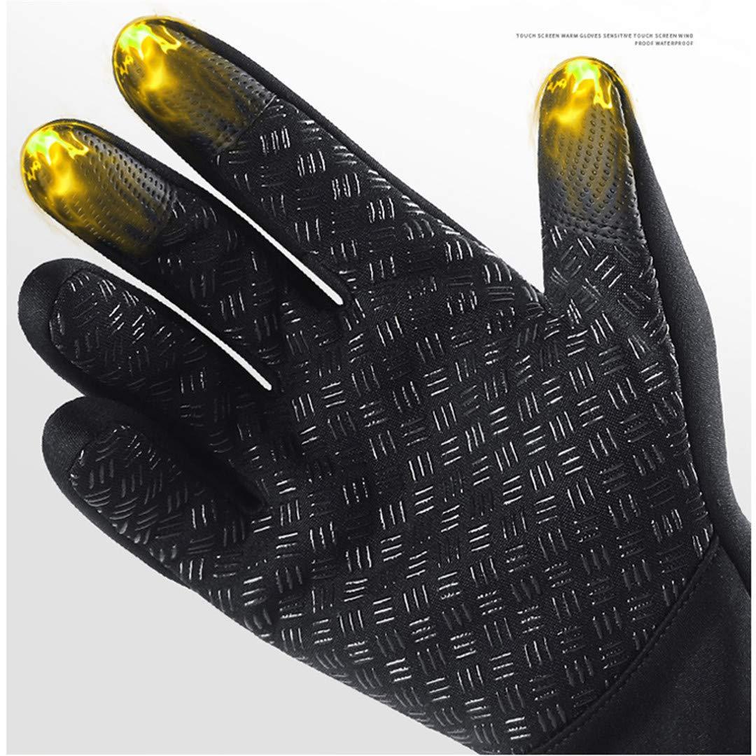 Hiaphao Gants de v/élo imperm/éables Hiver Doigts Gants de v/élo /à /écran Tactile